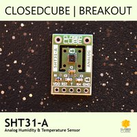 SHT31-A (Analog) Humidity & Temperature Sensor