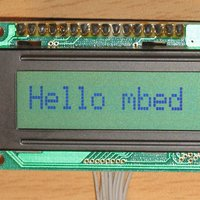 HD44780 and compatible Text LCD controllers (4bit, I2C or SPI I/F)