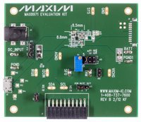 MAX8971 - Industry's Smallest 1.55A 1-Cell Li+ DC-DC Charger