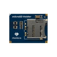 Rhomb.io uSD Card Holder module