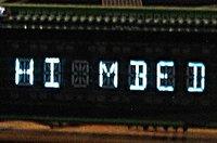 PT6312 VFD driver (121 segm max), Keyboard scan (24 keys max)
