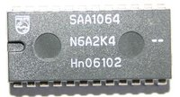 SAA1064 4 Digit 7-Segment LED driver with I2C interface