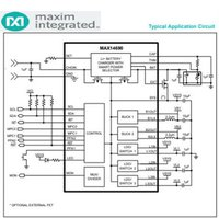 Wearable Low Iq Charge-Management Solution MAX14690 PMIC