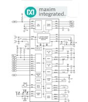 PMIC Wearable Power Management IC Charger MAX20303
