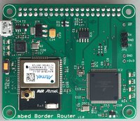 mbed 6LoWPAN Border Router HAT