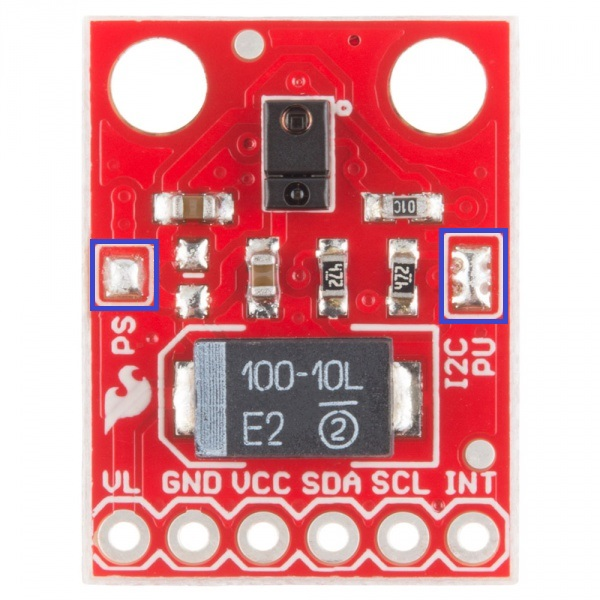 RGB and Gesture Sensor APDS-9960 Proximity detection and non touch gesture detec