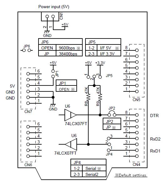 serial printer wiring diagram