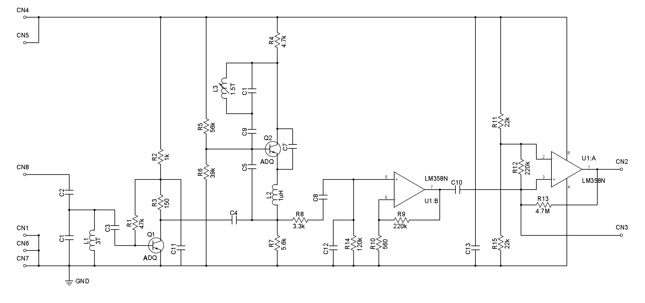 Infrared Emitter Wiring Diagram Library Reflectivesensor Sensorcircuit Circuit Seekiccom A Schematic For 434mhz Rf Receiver Module