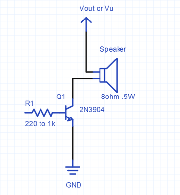 using a speaker for audio output mbed rh os mbed com Dynamic Loudspeaker Diagram Loudspeaker Circuit