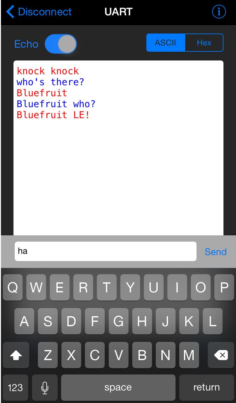 Adafruit Bluefruit LE UART Friend - Bluetooth Low Energy (BLE) | Mbed