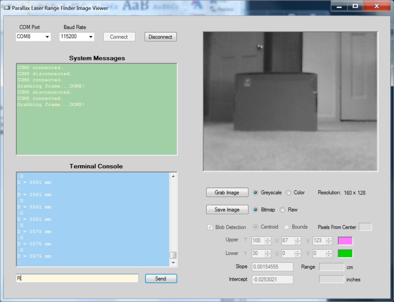 Parallax Laser Range Finder | Mbed