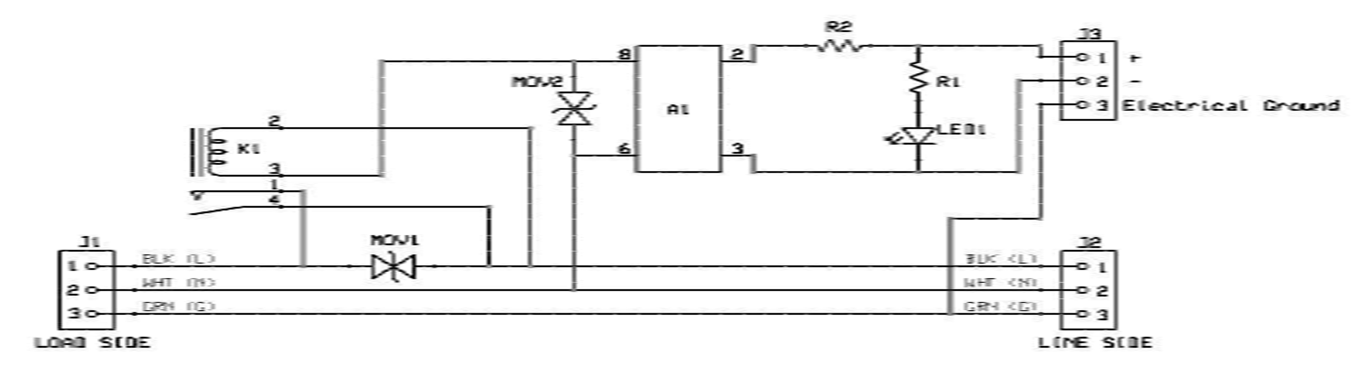 Power Switch Tail II Schematic