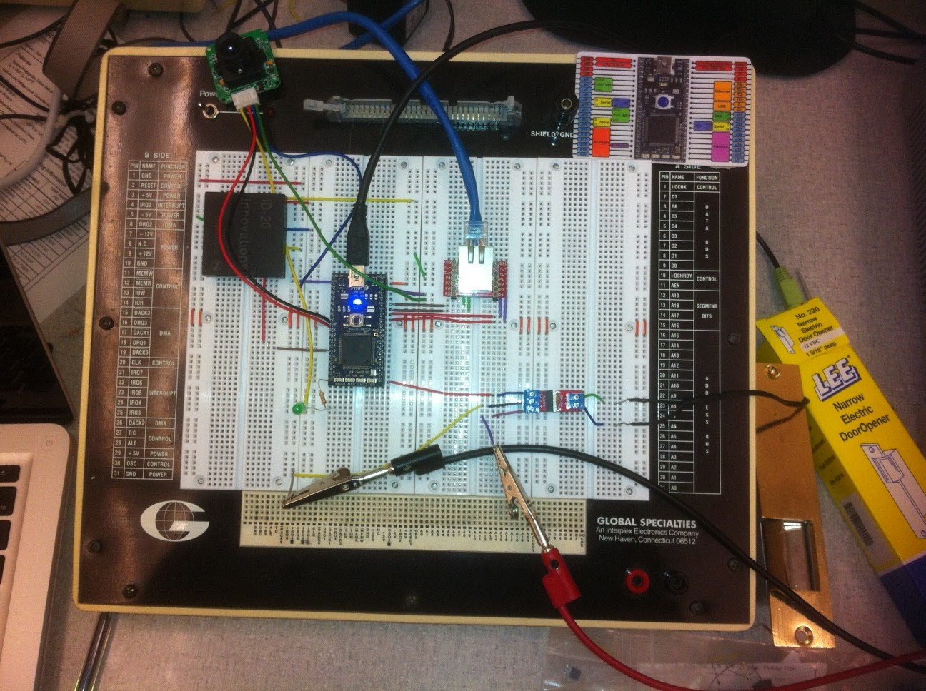 Student Projects Cookbook Mbed Warning Mailbox Electronic Project Circuit Design Schematic Photos Of
