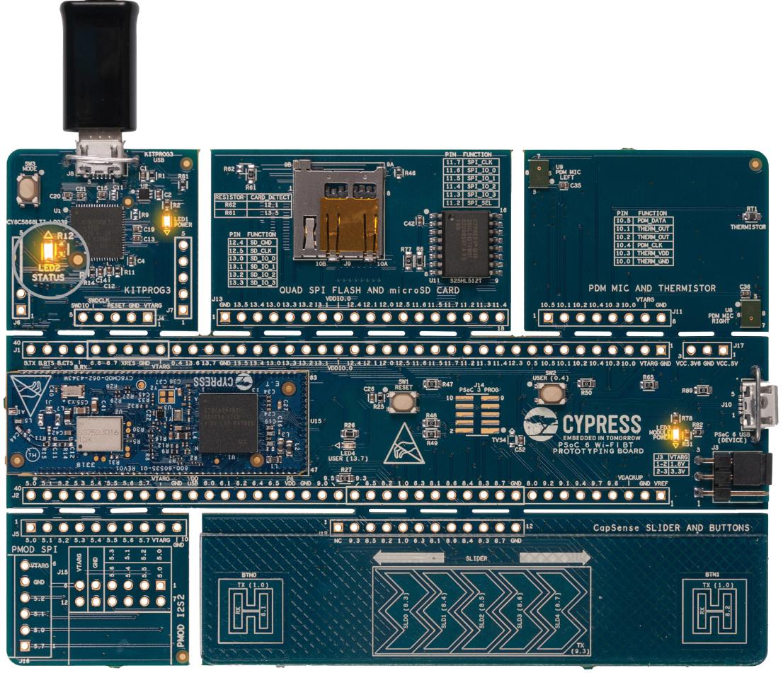 PSoC 6 Wi-Fi BT Prototyping Kit   Mbed