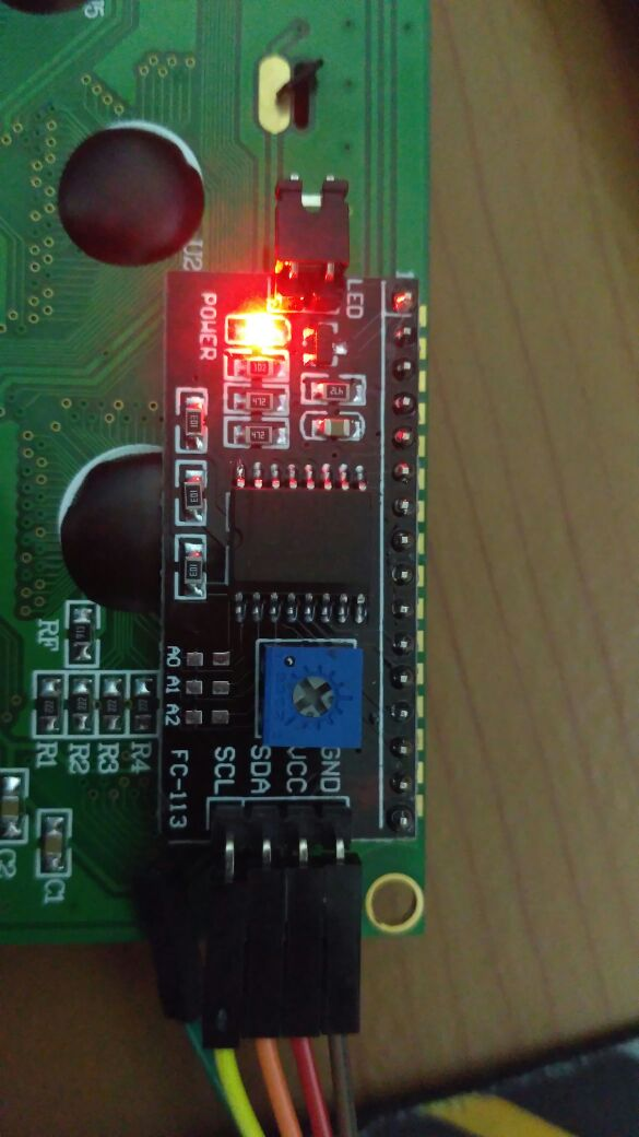 Connecting a 2004 LCD via I2C - Question | Mbed