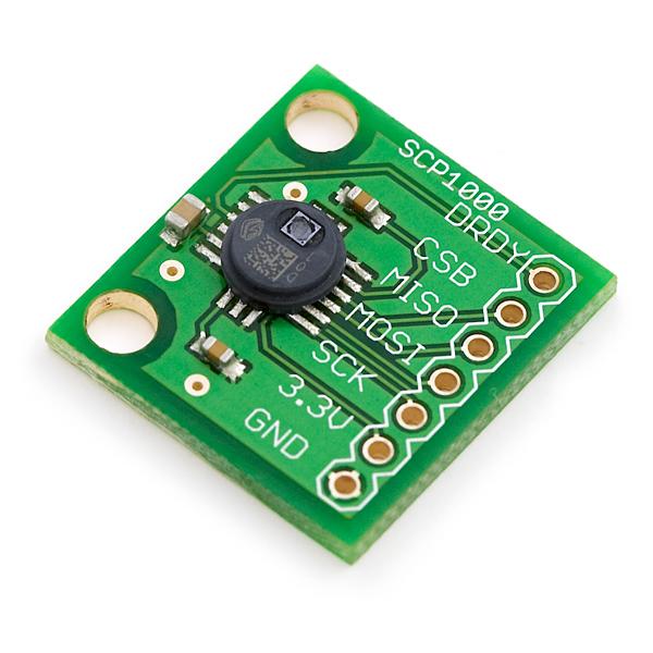 SCP1000 Pressure Sensor - Cookbook | Mbed