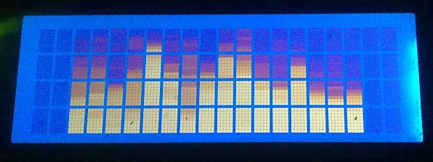 Audio spectrum analyzer fft points and lcd mbed