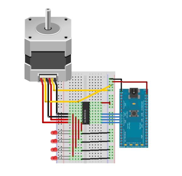 5 phase stepper motor wiring diagram clock motor diagram for 5 phase stepper motor
