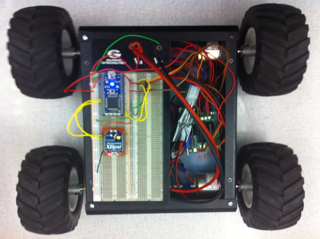 Xbee Robot Car