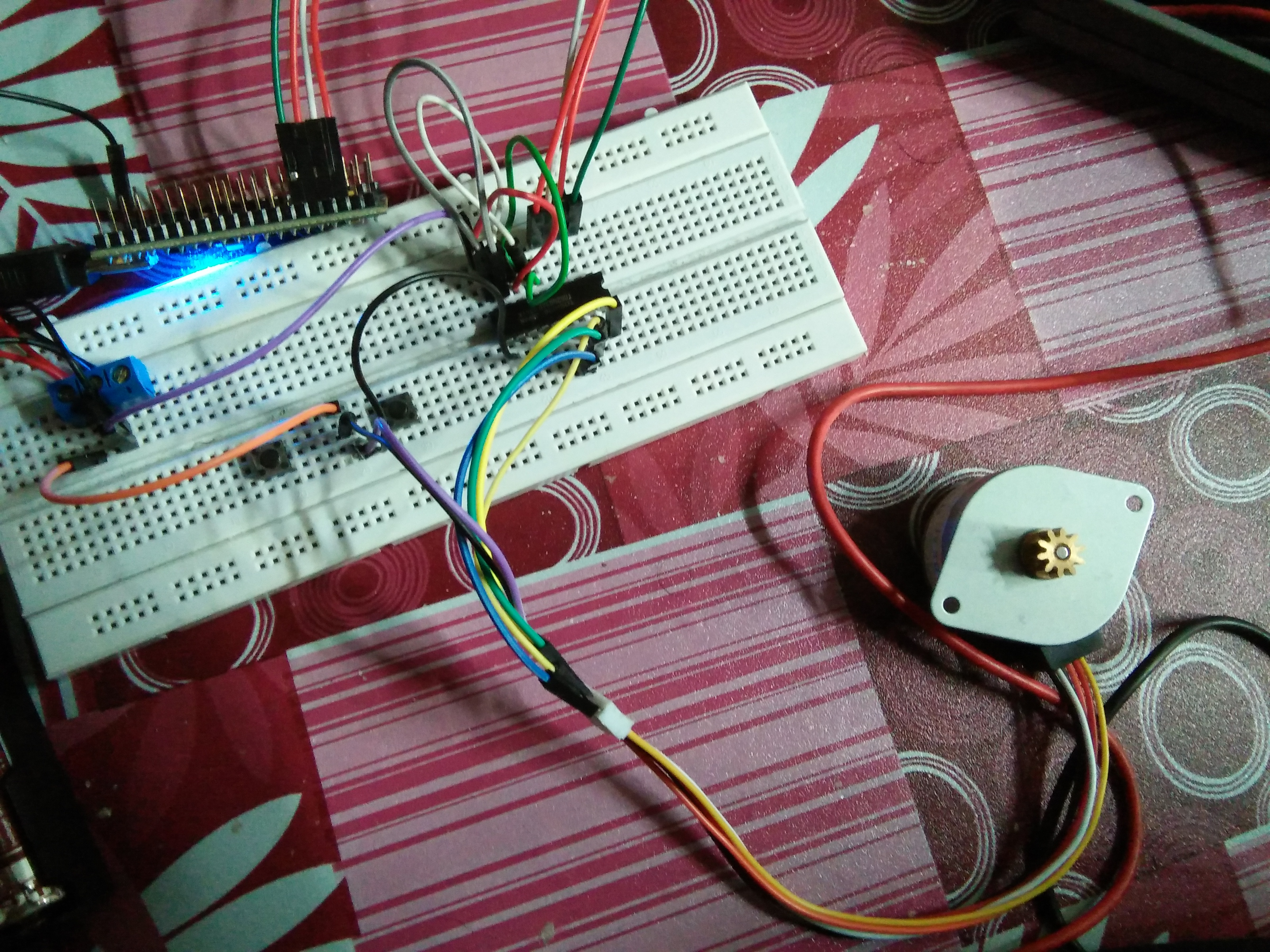 Unipolar Stepper Motor Problem Not Function Question Mbed Wiring This Is My And Connection Media Uploads Alifizudin Img20170502170018