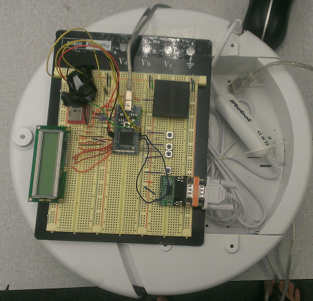 Reprogrammable RFID Robot