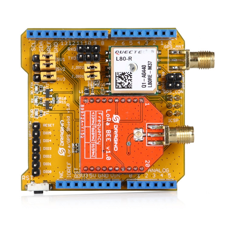 LOW_COAST_LORA_NODE - Test LORA NODE with Library SX1272, initially