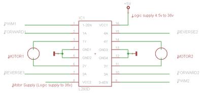 l293d motor driver datasheet pdf