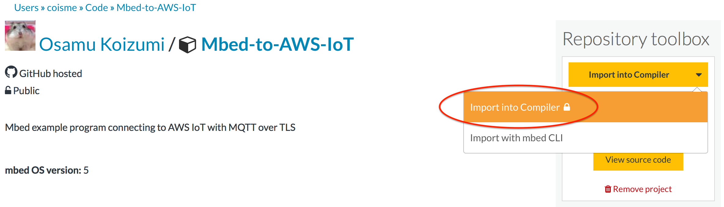 AWS IoT from Mbed OS device | Mbed