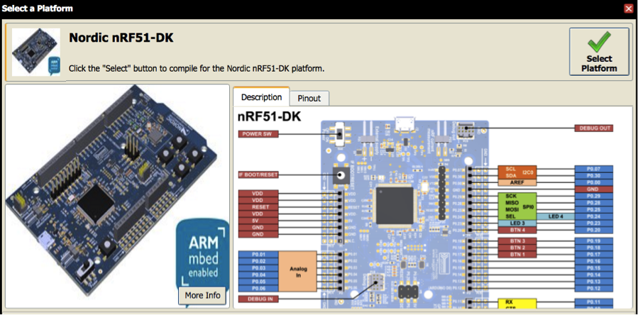 Build an ARM mbed BLE beacon with Nordic nRF51-DK and Evothings