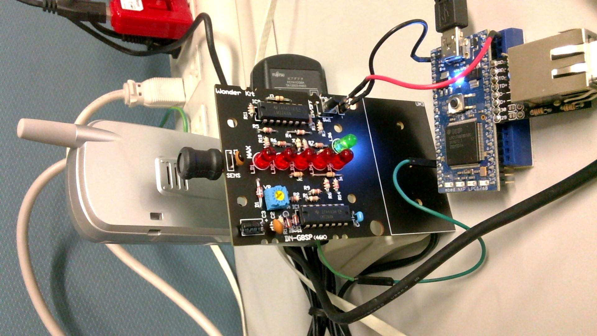phsringnotify send irc privmsg on analog input mbed