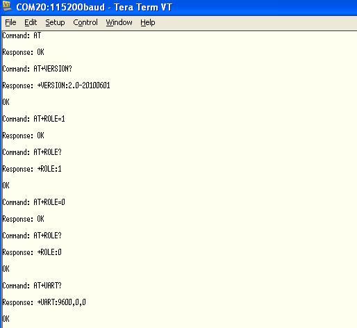 HC-05 Bluetooth | Mbed
