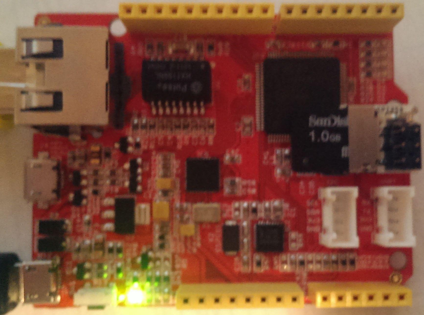 spi2sd installed