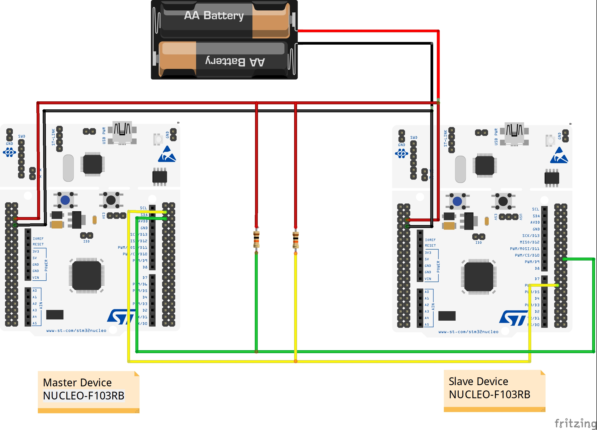 Nucleo F103rb I2c Problem Question Mbed Wiring Diagram