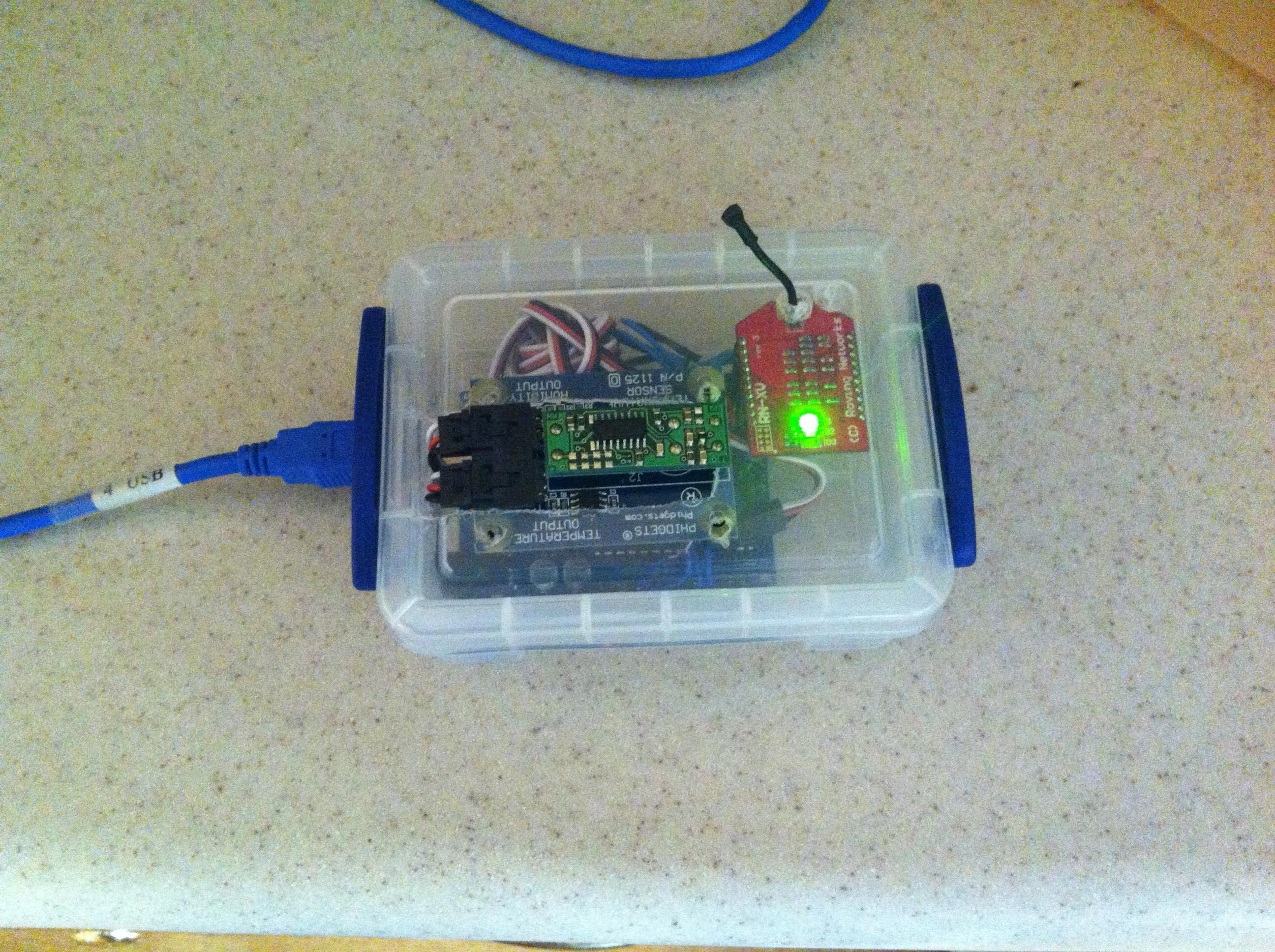 Mbed mini project arduino remote weather sensor