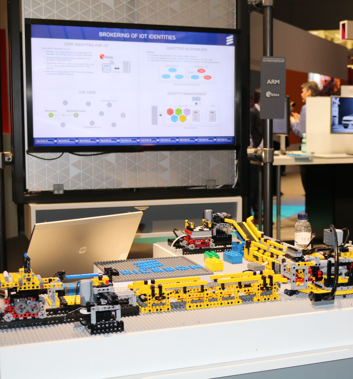 Brokering IoT dependencies with Lego