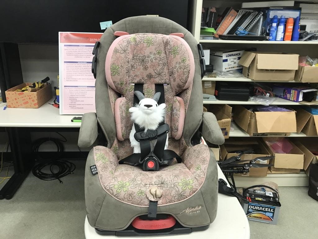 The Purpose Of This Project Was To Design A Childs Safety Car Seat With Internet Things Capabilities And Cooling System That Activates In Case
