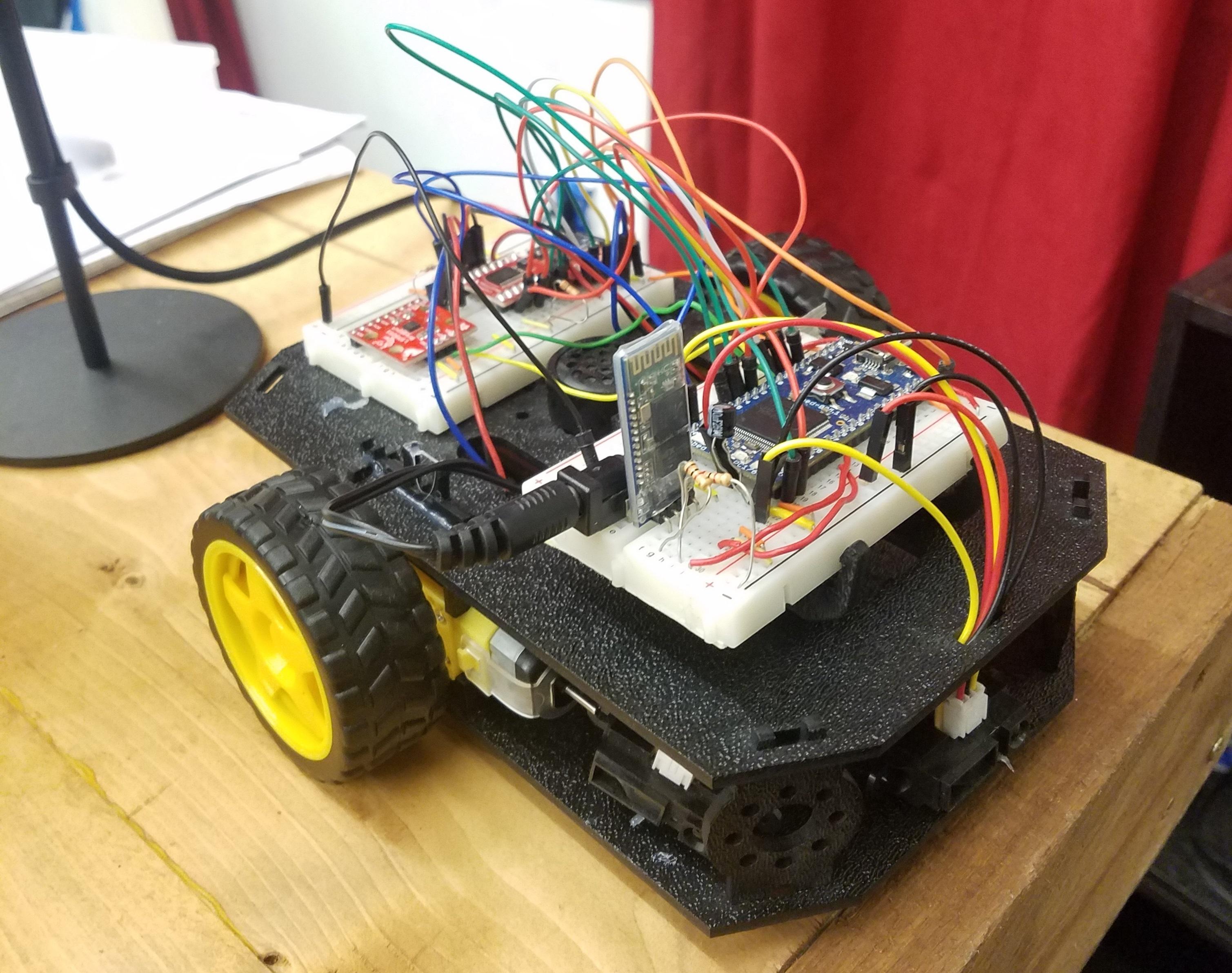 Position Logging Autonomous Robot Ece4180 Final Project Mbed Roomba External Serial Port Diagram