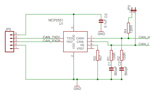 Test CAN BUS with 2 nodes (transceivers), can't read the