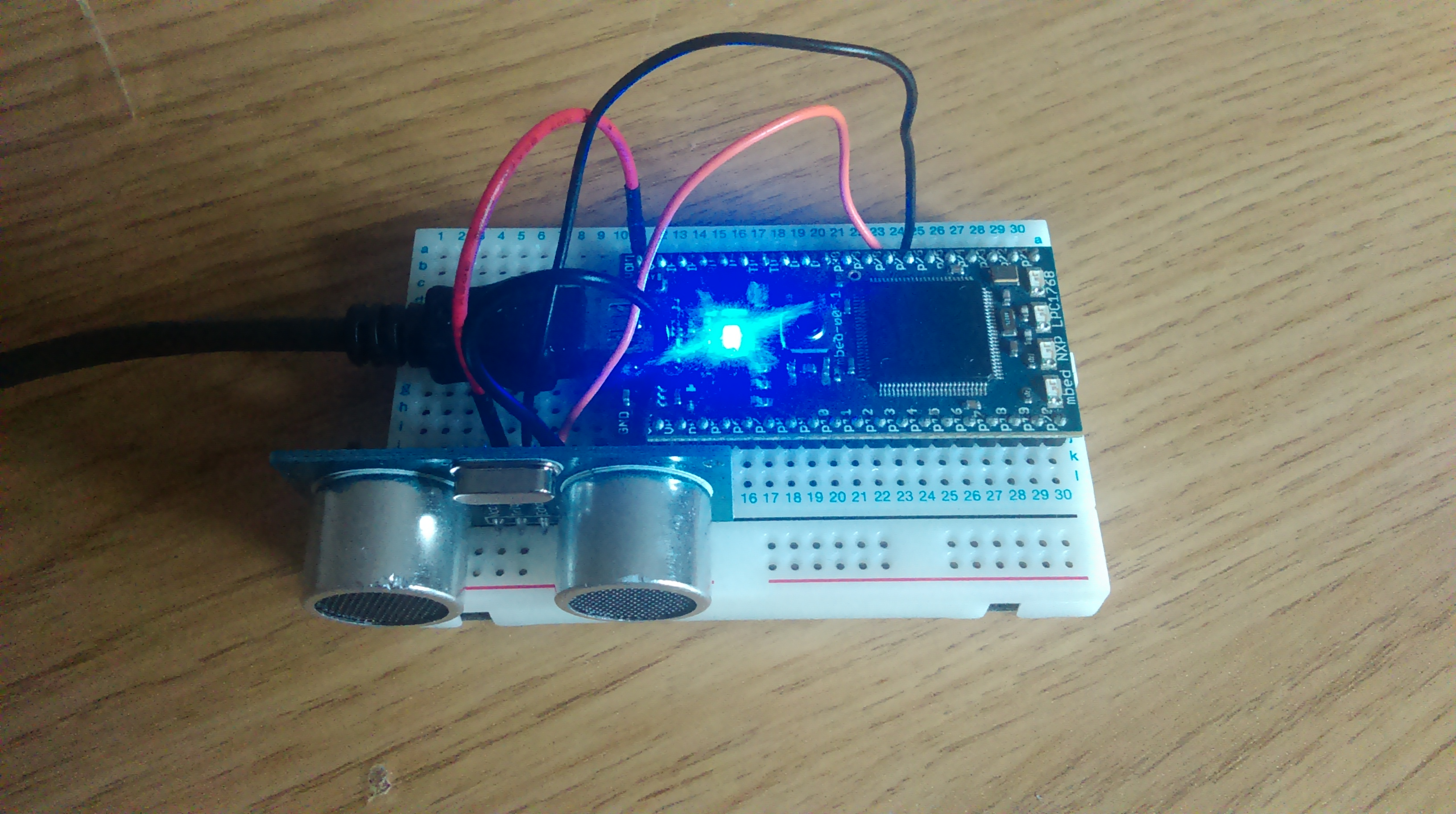 Simple Arduino and HC-SR04 Example: 3 Steps