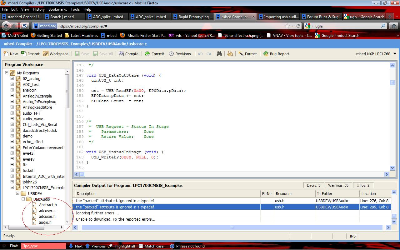 The Online Compiler Mbed