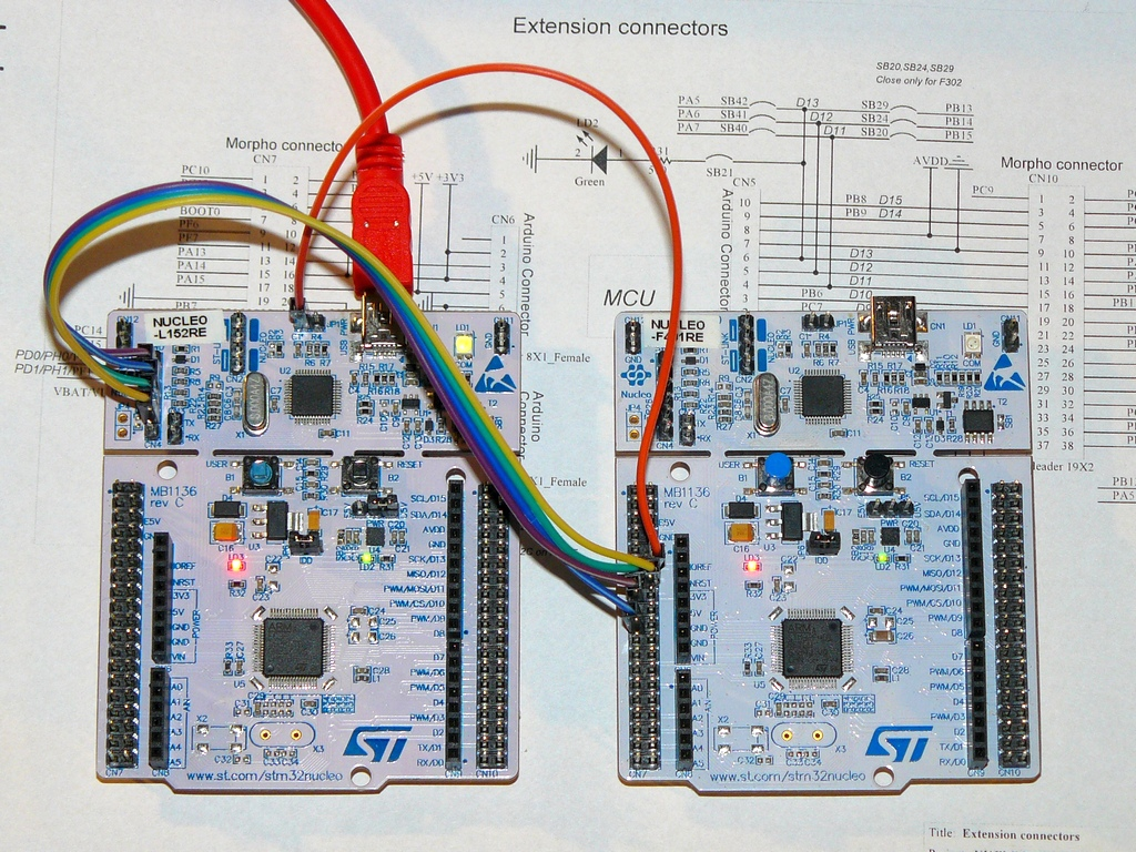 F401RE - Cut off ST-LINK - Question | Mbed