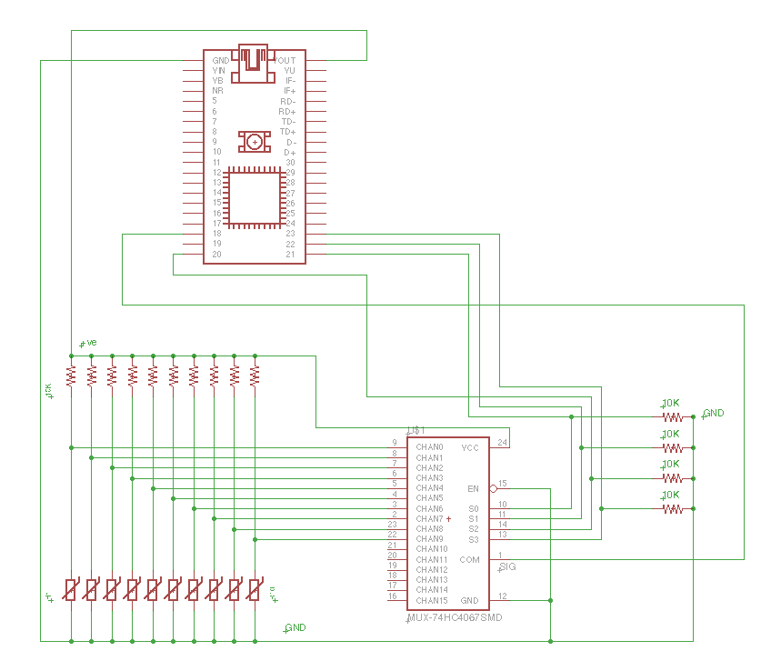 272515326814 in addition 4538 Pololu 4 Channel RC Servo Multiplexer Partial Kit in addition Multiplexer additionally Circuit Diagram Of 4 1 Multiplexer further Analog Digital Mux Breakout. on 16 channel multiplexer schematic