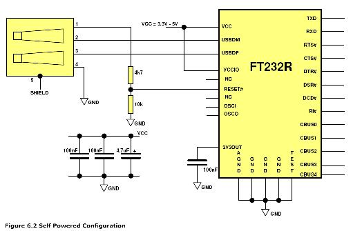 ft232rl mbed usb breakout mbed Micro USB Wiring-Diagram at bayanpartner.co