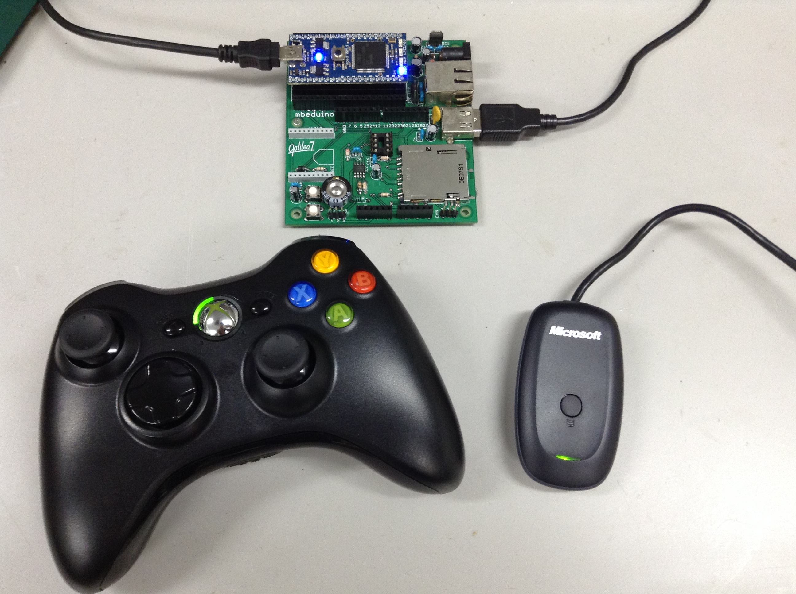 Xbox 360 Wireless Controller Mbed Circuit Diagram