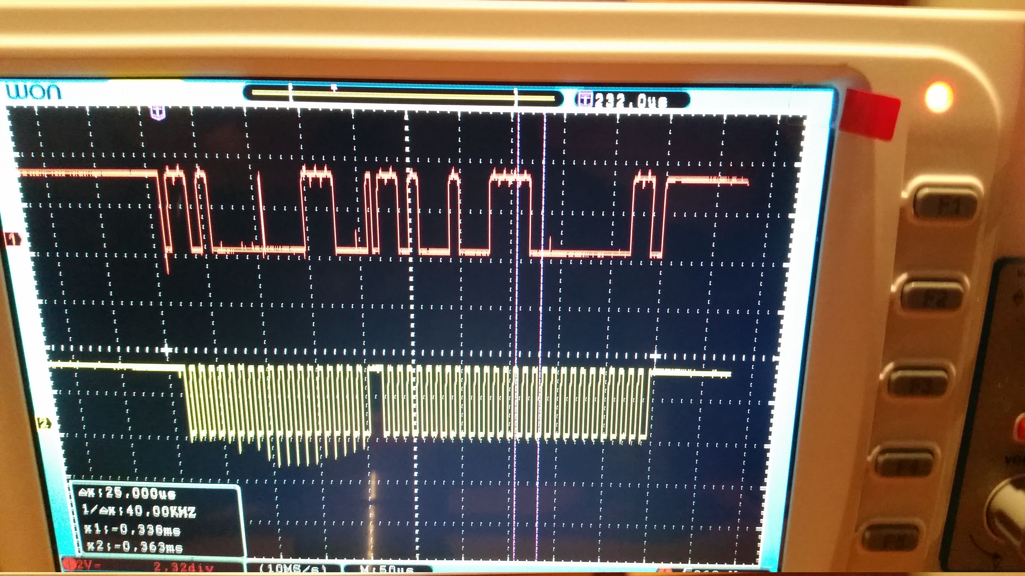 Is there are bug with the I2C for the STM32F407 Discovery board