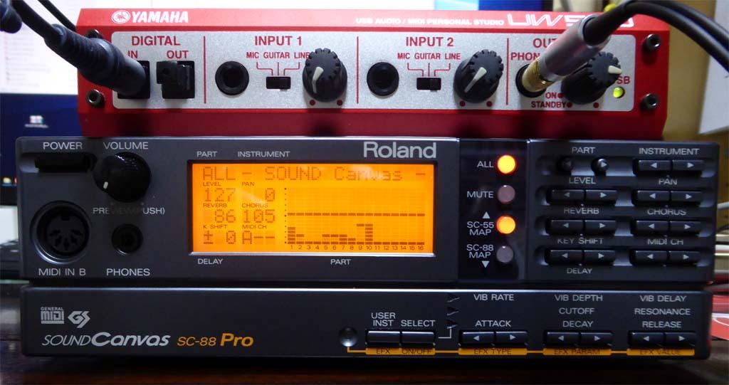 DIT88proSTM32F1 - もっと今更、SC-88ProにS/PDIFを付けよう   Mbed