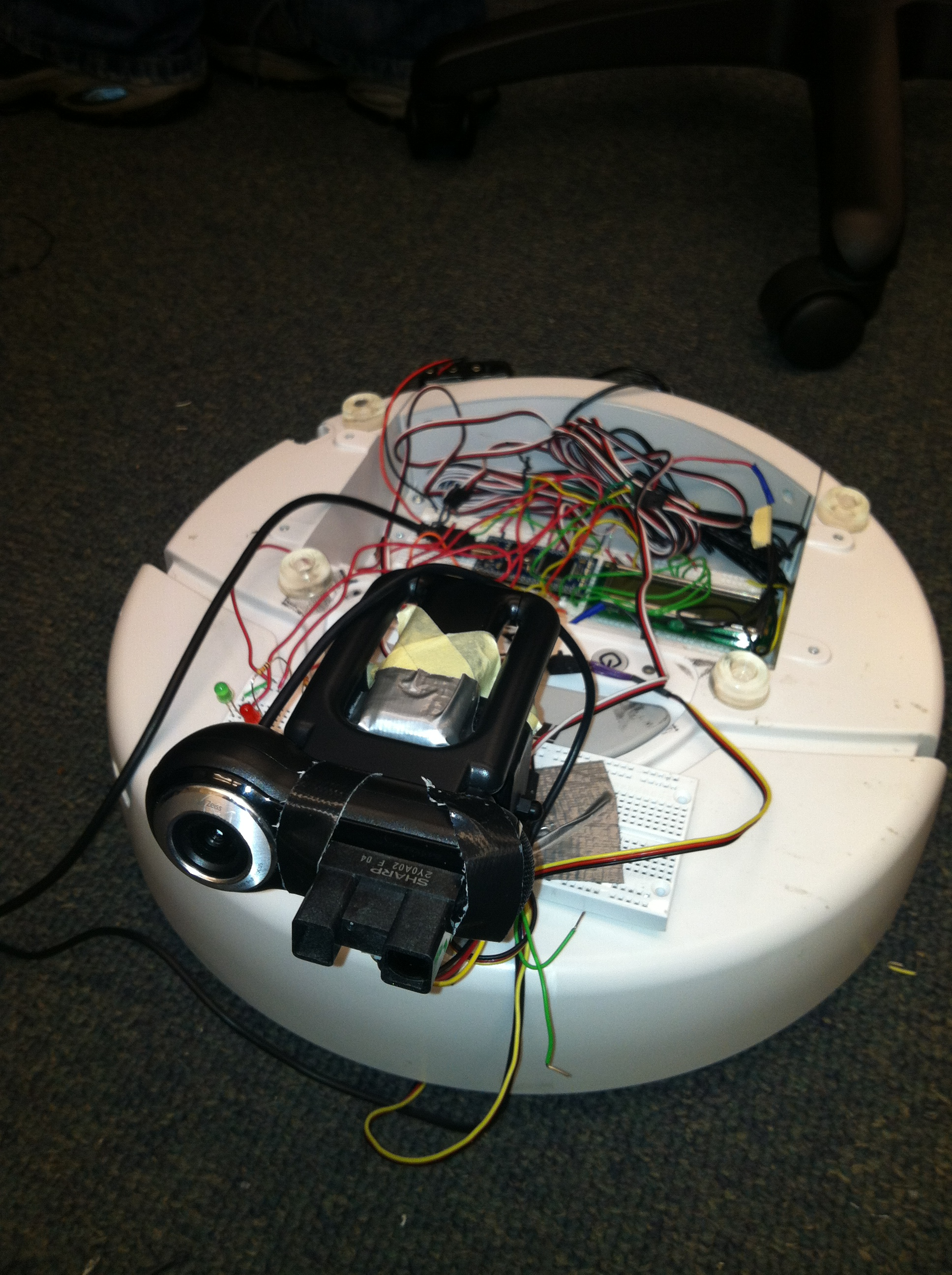 Student Projects Cookbook Mbed Guitar Pot Wiring Electrical Engineering Stack Exchange Followmebot