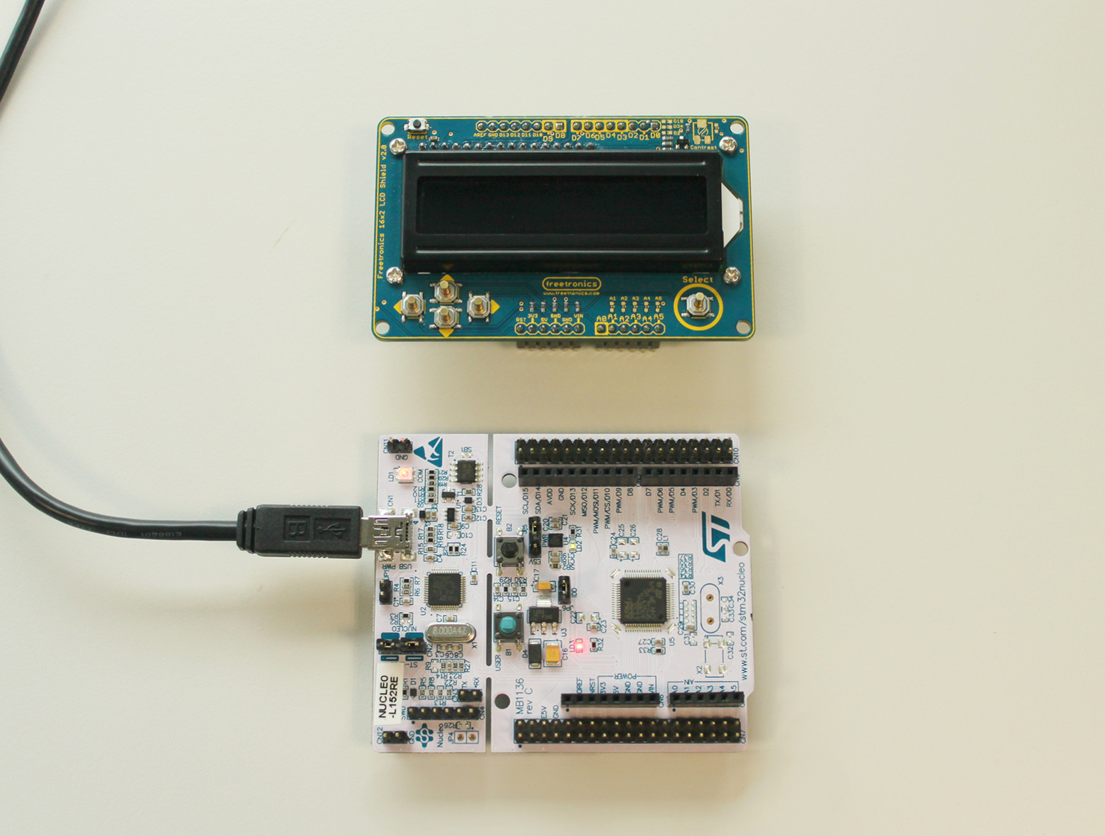 Hands-on: ST Nucleo board with a shield | Mbed