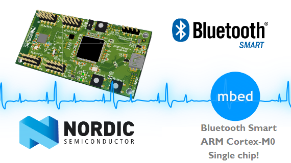 Nordic Semiconductor's Bluetooth Smart SoC running mbed! Pre