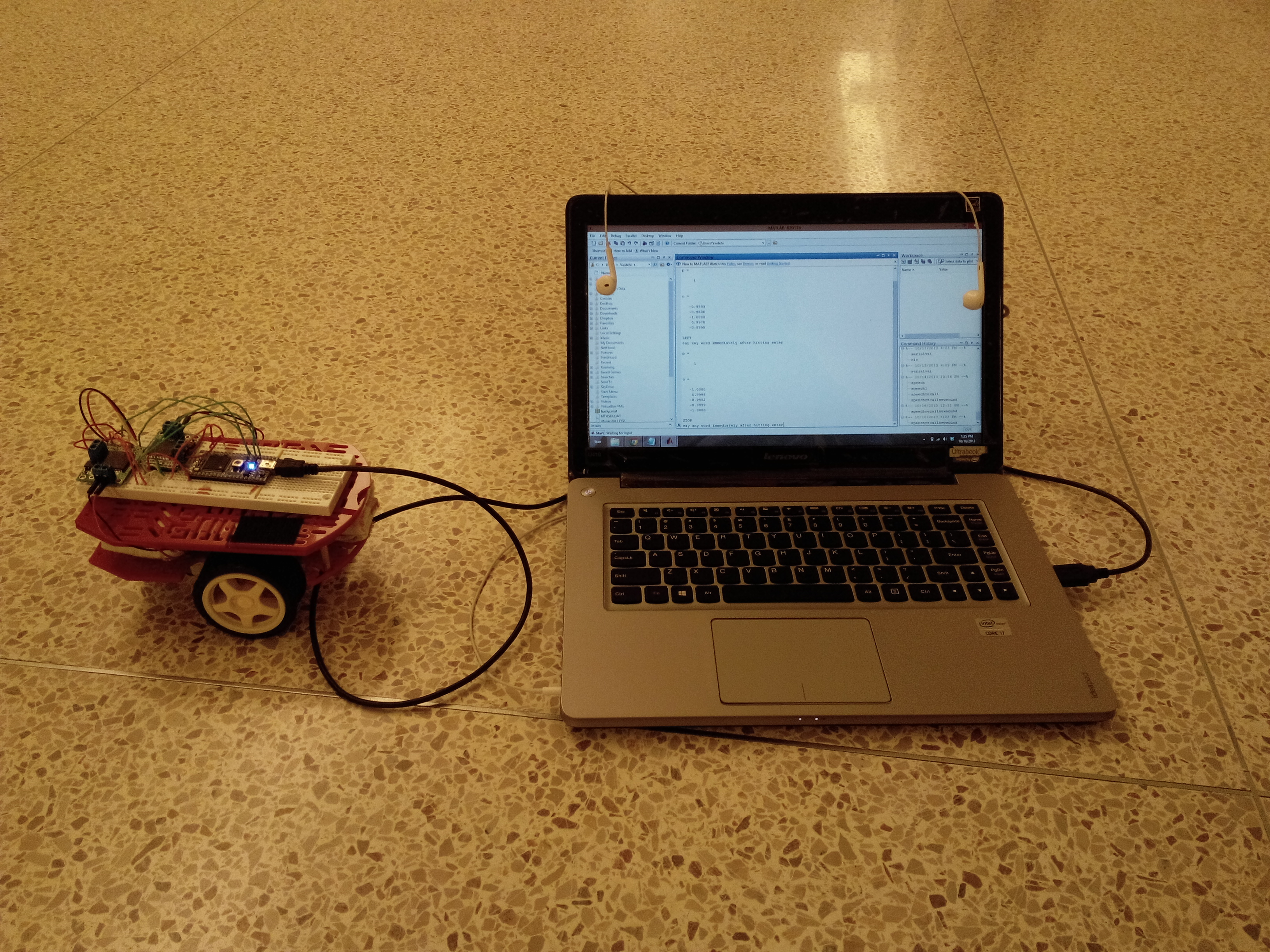 Mini Project 1- Voice Controlled Robot | Mbed